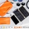 野外に最適。太陽光でスマホ充電できる「ソーラーペーパー」のBEAMS DEIGNとのコラボ