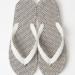 これは履いてみたい!柔道着に使われるざっくりとしたコットン生地が貼付されたビーチサンダル